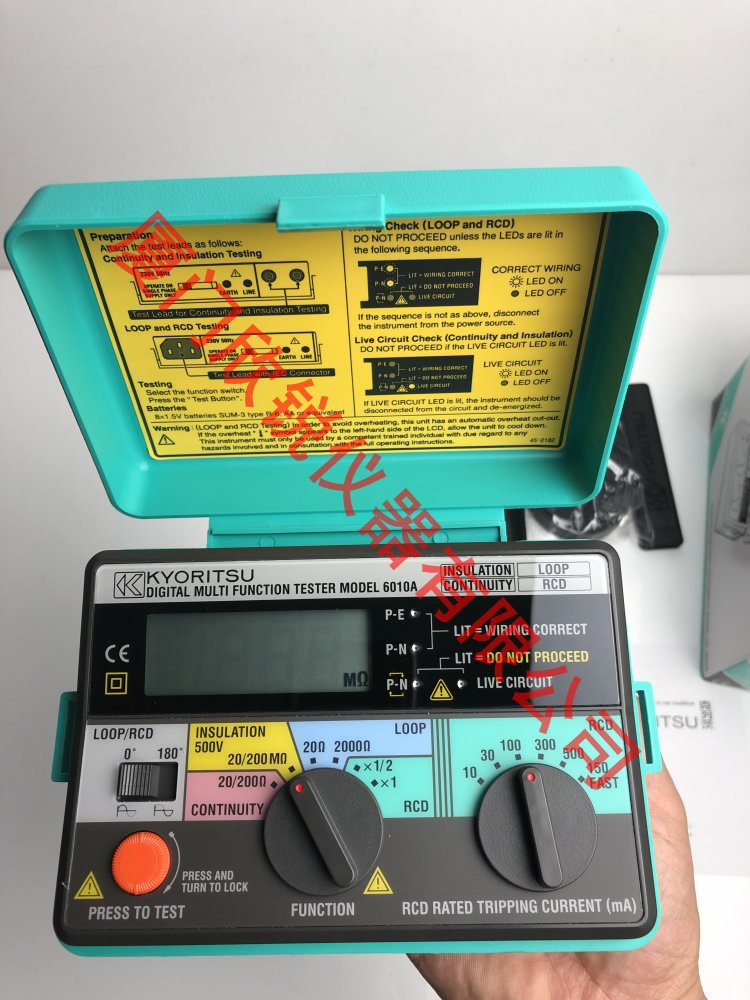 KEW6010A共立多功能测试仪克列茨电压绝缘电阻接地测试仪6010A